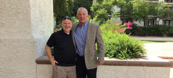 Brett and Dr. Tim Church